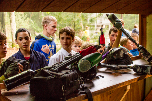 paintball at grace adventures summer camps