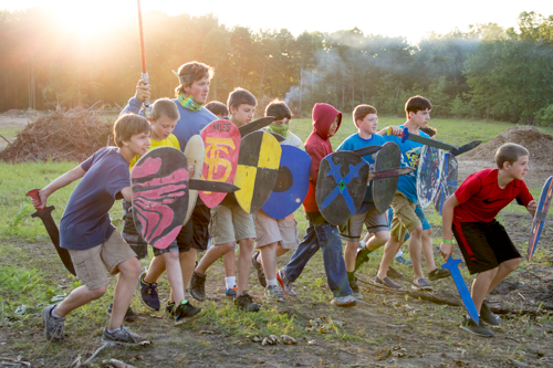 unique activities for boys summer camp