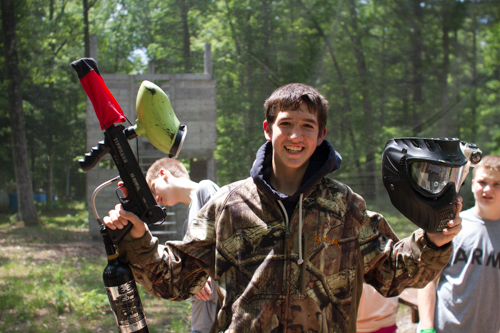 paintball for high school summer camps