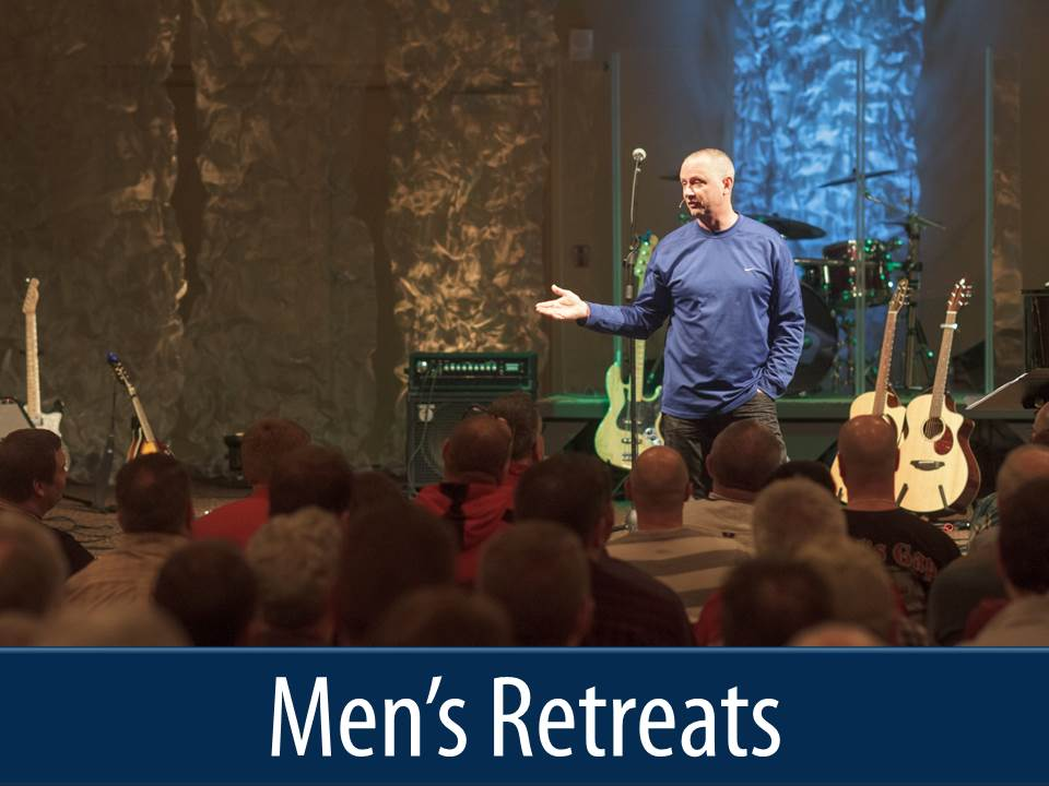 mens retreats button