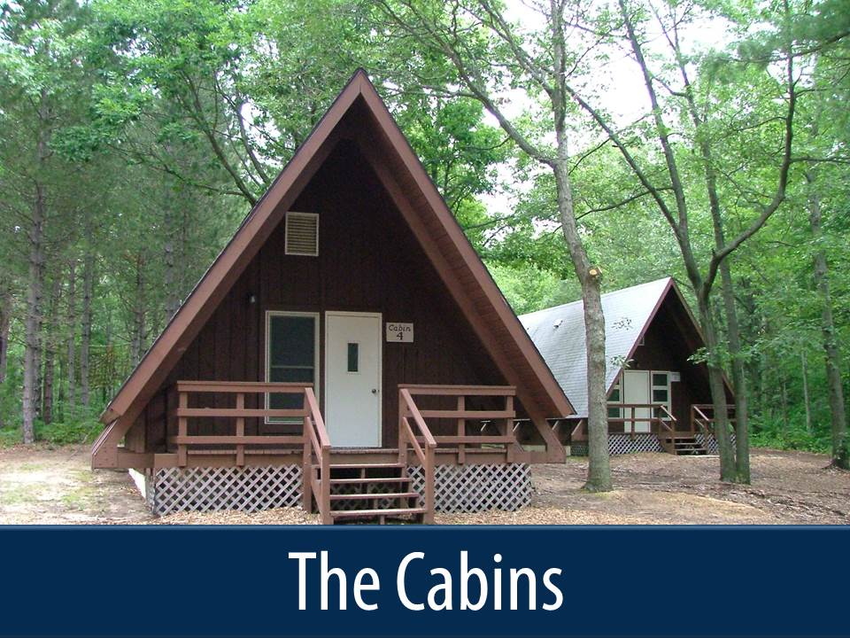 the cabins