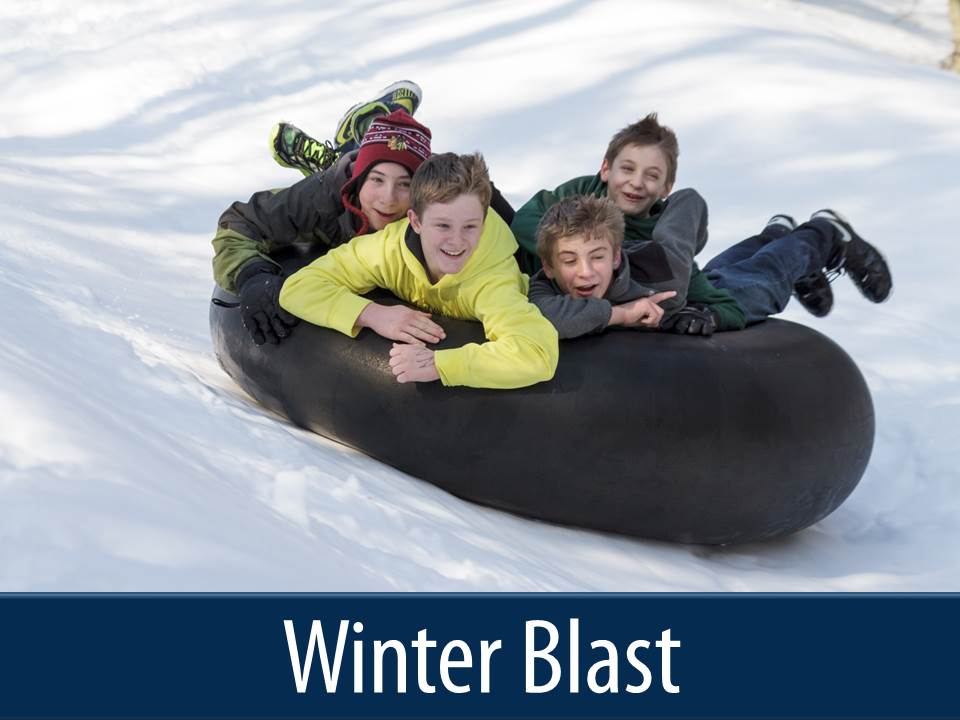 winter blast button