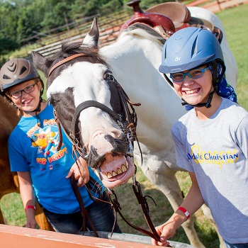 horse camps for elementary school in michigan