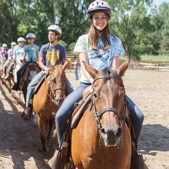 horse camps for middle school in michigan