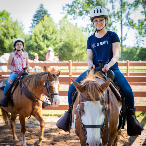 range rider horse camp
