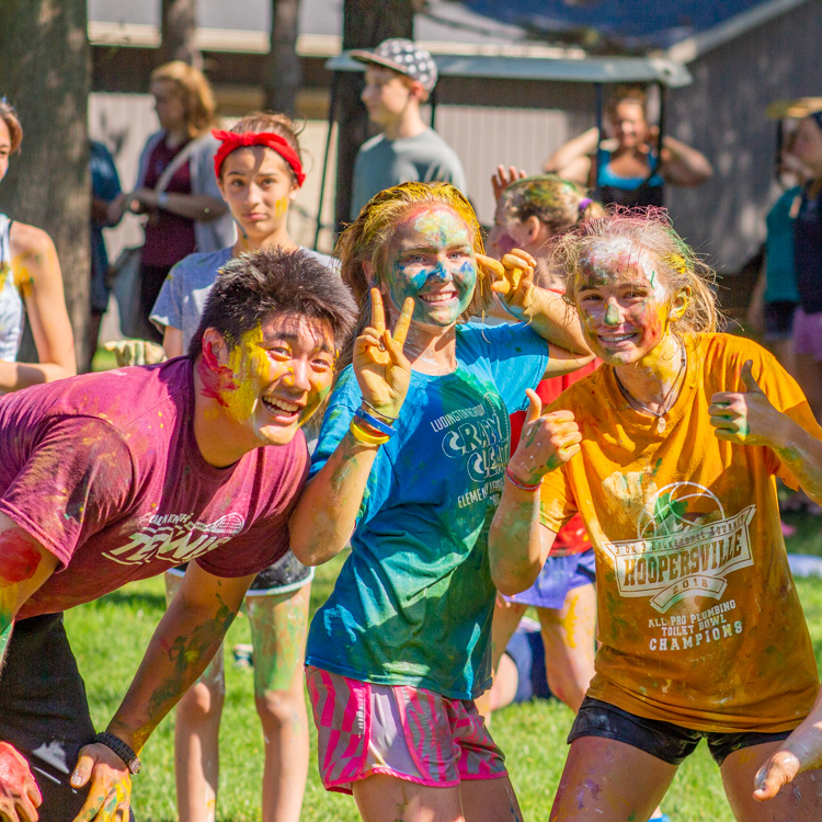 camp combines mess and fun